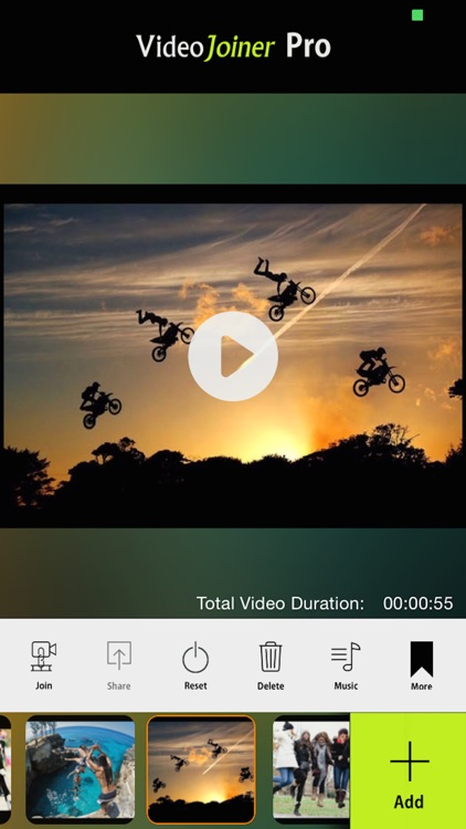 VideoJoiner - Video Editor to Merge & Edit Movies screenshot-0