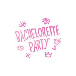 Bachelorette Party Set 1 stickers by MissChatZ