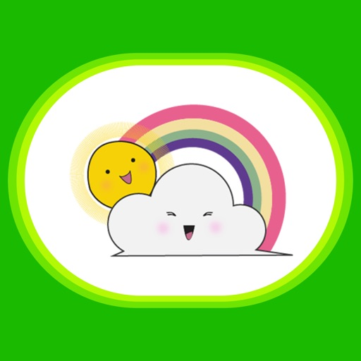Weathermoji - cute weather stickers pack