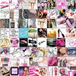 Girly Walls-Cute Girl Image for Home & Lock Screen