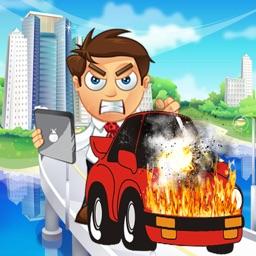 Car Damage - Dude Car Prank