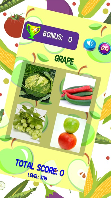 Learn Name Of Fruits And Vegetables English Vocab