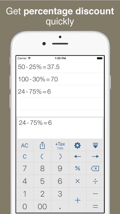 Calculator Pro - History Tape, Tax and Discount screenshot-3