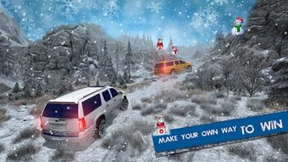 越野凯雷德雪驾驶-4 x 4 的疯狂驱动器 3D App 截图