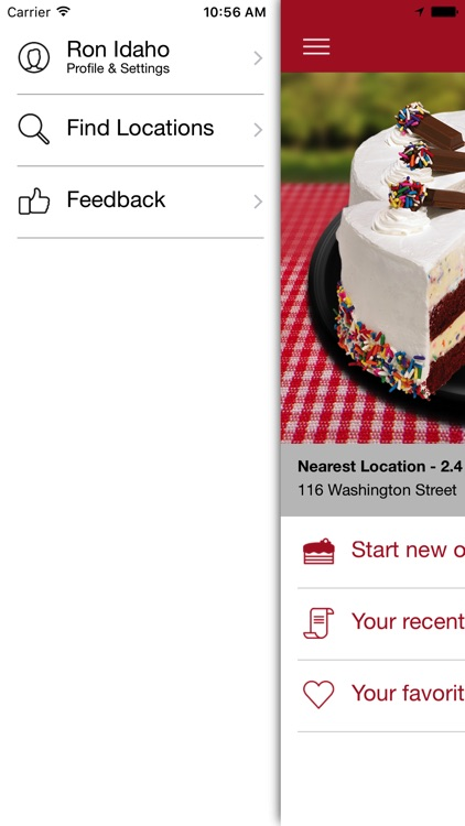 Cold Stone Cakes screenshot-1