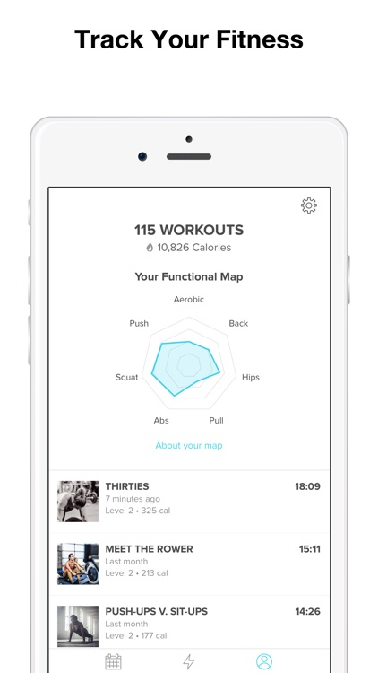 Keelo — High Intensity HIIT Workouts at Home & Gym screenshot-3