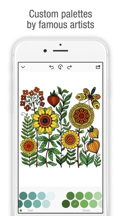 Tap & Color - Coloring book screenshot-3