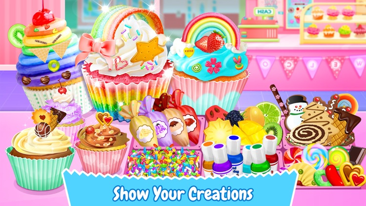 Cupcake Maker! Sweet Desserts screenshot-3