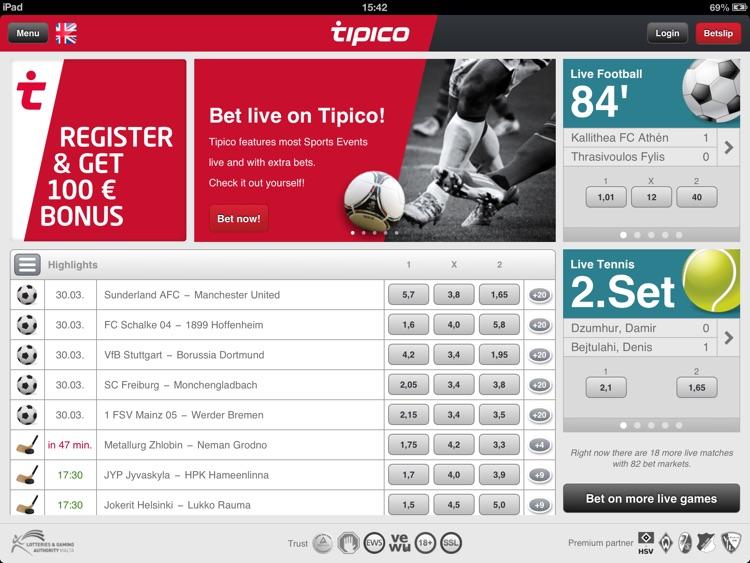 Tipico for iPad