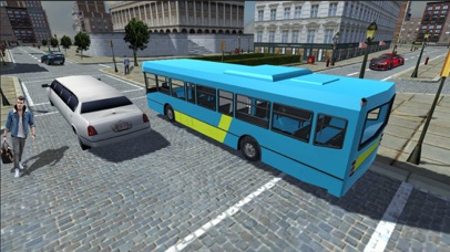 Public Bus Transport Simulation: Driving in City screenshot two