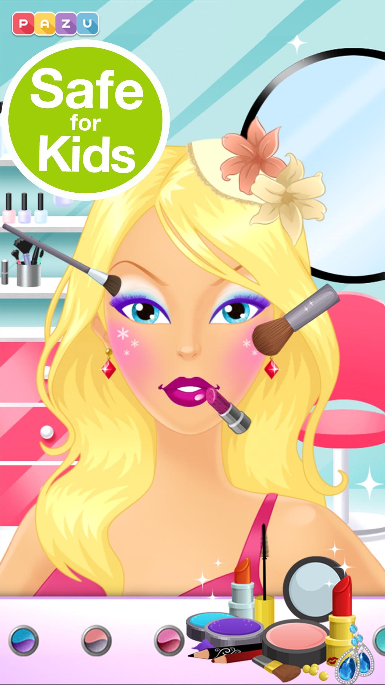 Makeup Girls - Dress Up & Make Up game for girls Screenshot