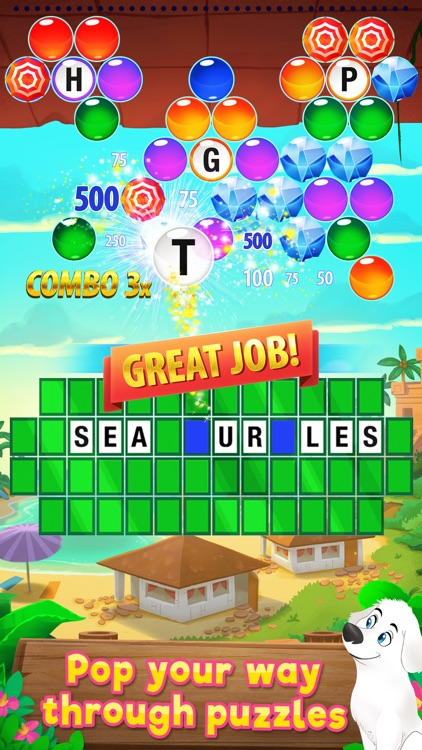 Wheel of Fortune PUZZLE POP screenshot-0