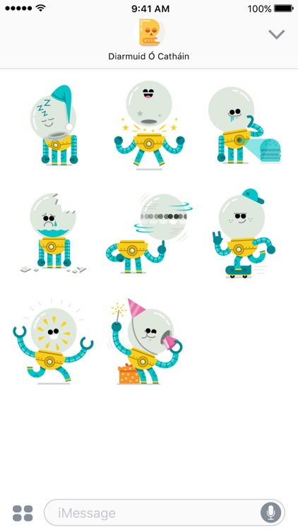 Orbo stickers screenshot-2