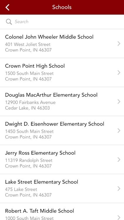Crown Point Community School Corporation by Custom School Apps