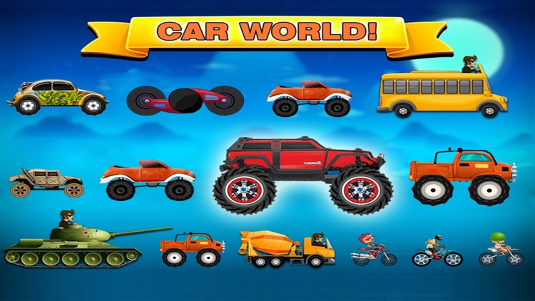Car Hill Climb : Top Rider Racing ( 2 to 4 Stages)
