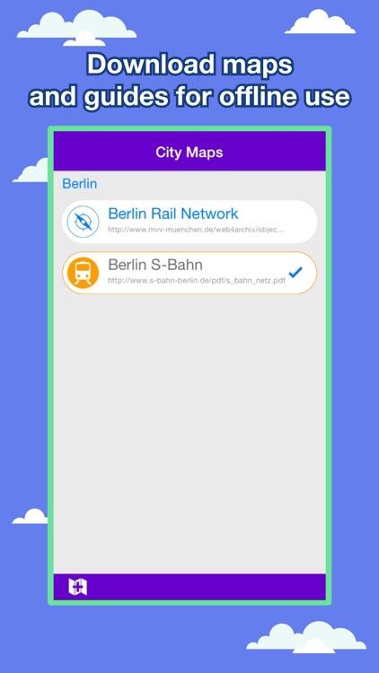 Berlin City Maps - Discover BER with MRT,Bus,Guide screenshot-3