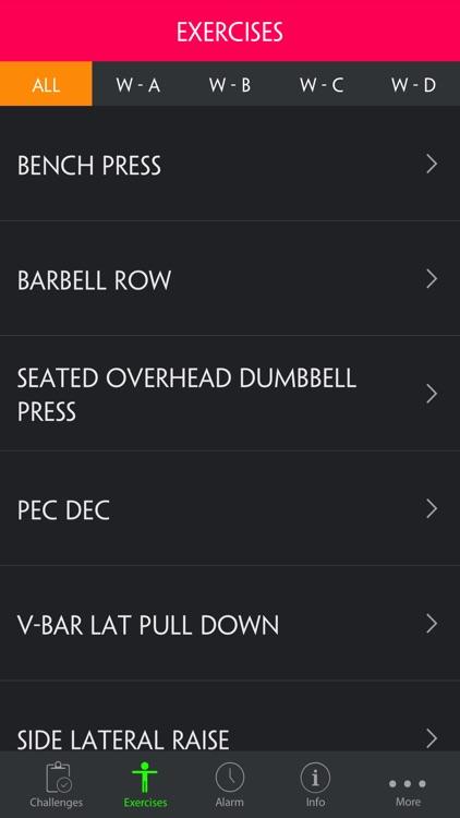 Upper/Lower 4 Day Gym Bodybuilding Split Pro screenshot-3