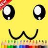 Sponge Cartoon Coloring Drawing for Kid Boy Girl
