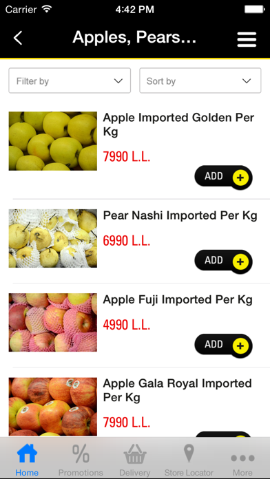 Spinneys Lebanon screenshot two