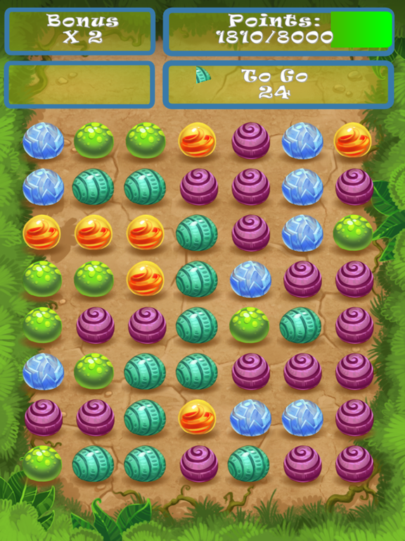 Eggs Marble Dash Match 3 HD screenshot 1