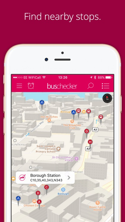 London Bus Checker - Live bus times at every stop. screenshot-0