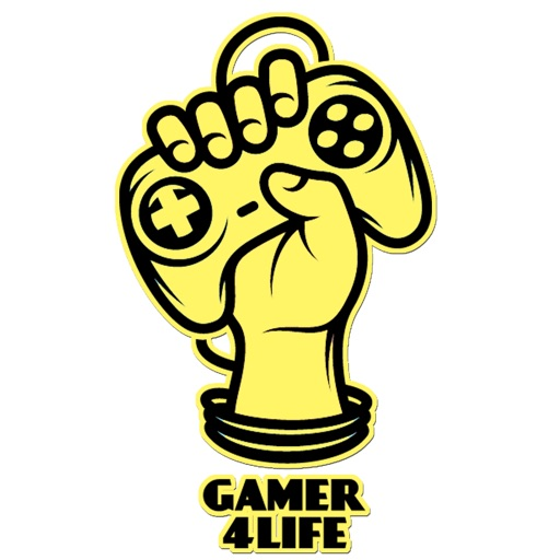 Gamer 4 Life Video Game Sticker Pack