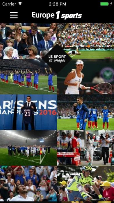 Europe1 Sports Скриншоты3