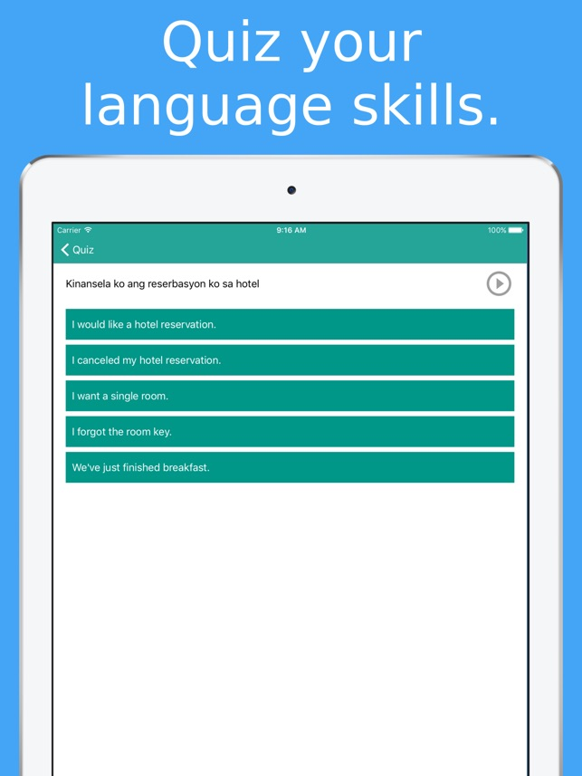 Simply Learn Tagalog - Speak Filipino Language on the App Store