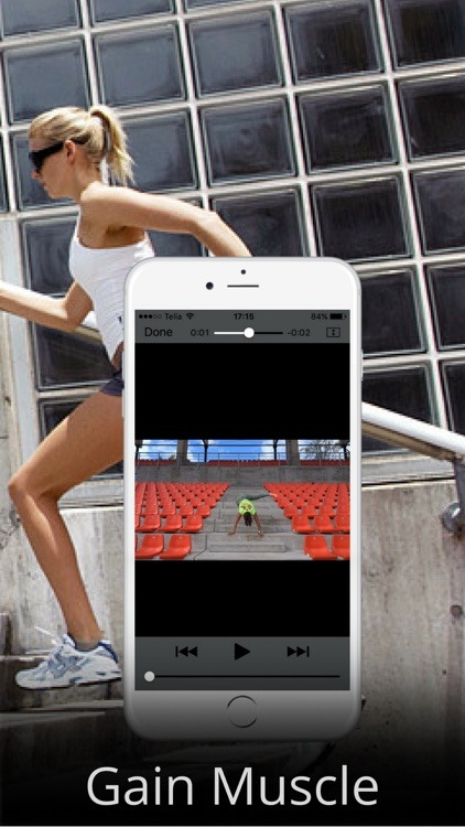 Fat Burning with Stairs Exercise Workout Routine screenshot-3