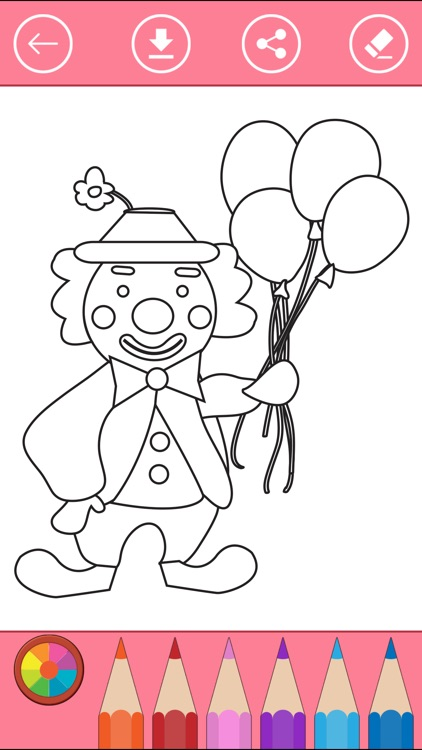 Circus Coloring Book for Children: Learn to color by Phu Vang