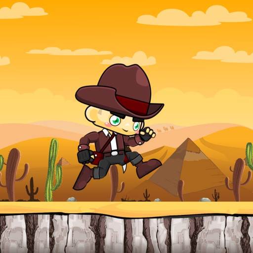 Super Cowboy - Endless Impossible Jump Game