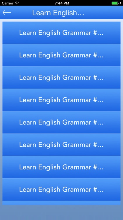 English Grammar - Learn Grammar screenshot-2