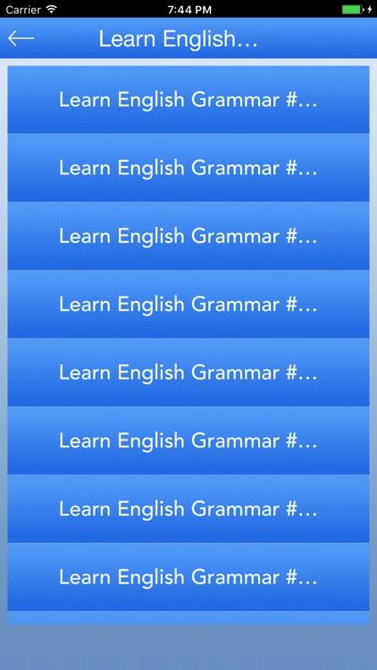 English Grammar - Learn Grammar