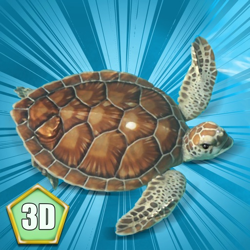 Sea Turtle Simulator 3D - Ocean Adventure icon