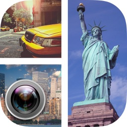 New York Photo Grid – NYC stickers for collages