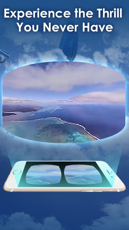 Skydiving VR Viewer & Player Free for Cardboard