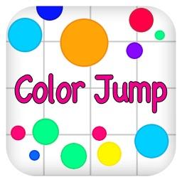 跳跃的颜色-史上最难跳跃过关小游戏!