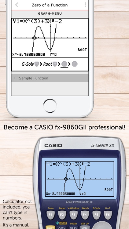 CASIO Graph. Calculator Manual