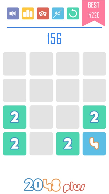 2048 Plus 1010 Style: Power of Two! screenshot-4