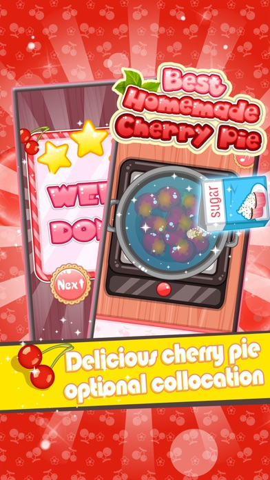 Best Homemade Cherry Pie - Cooking game for kids screenshot four