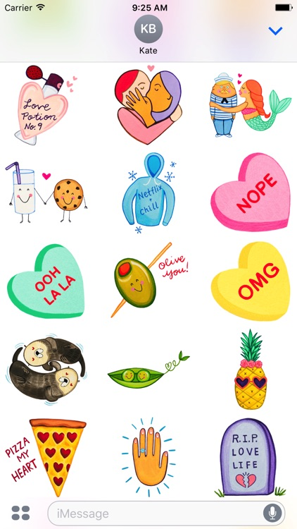 Love by MarcyMoji screenshot-2