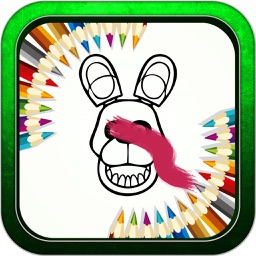 """Color Book Game for """"five nights at freddy's"""""""