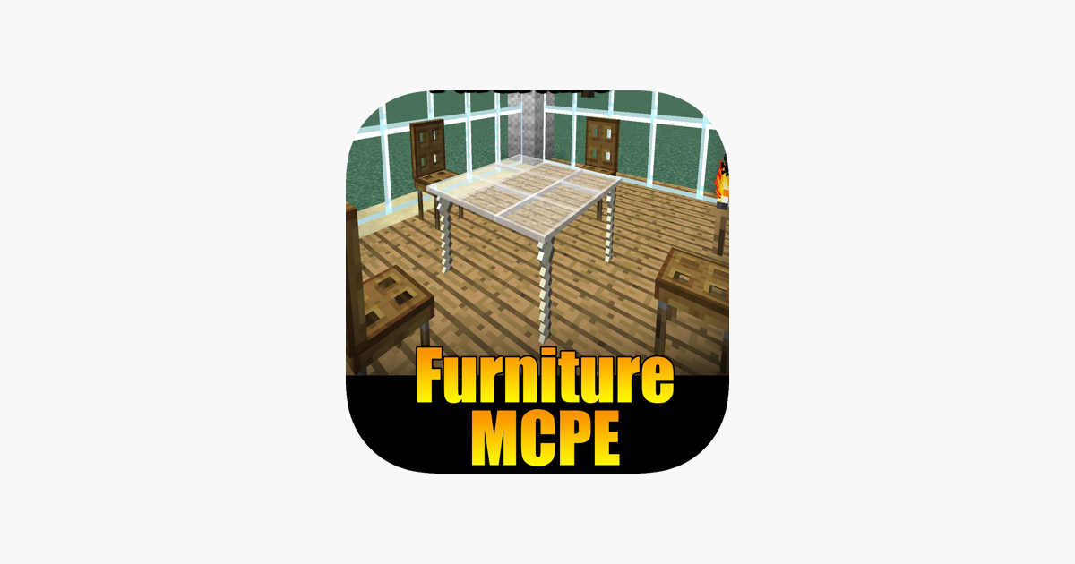 ‎Furniture Addon For Minecraft PE One Touch Install