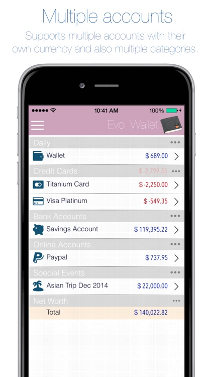 Evo Wallet - Money Tracker screenshot-3