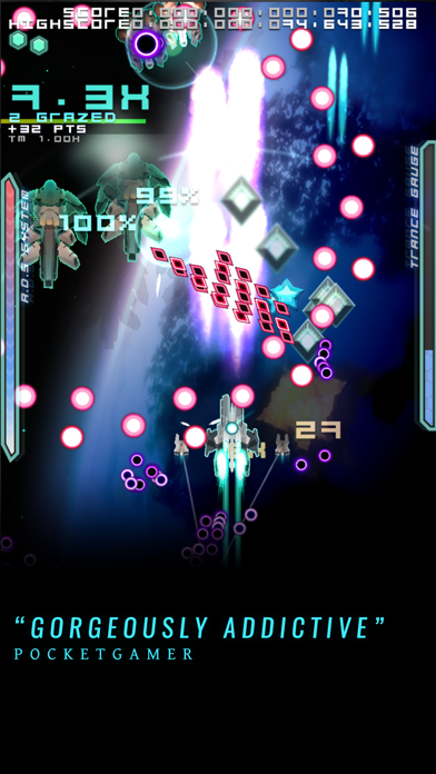 Screenshot #1 pour Danmaku Unlimited 2 - Bullet Hell Shmup