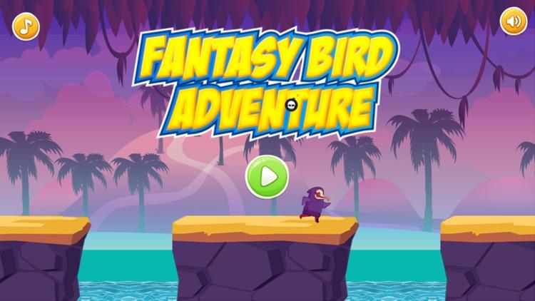 Running games : Fantasy bird run adventure - free