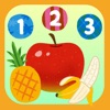 フルーツいくつ? - 数字を学べる無料の知育アプリ