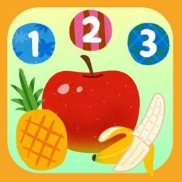 やさいで数字を覚えよう 数字を学べる無料の知育アプリ By Jun Nishio