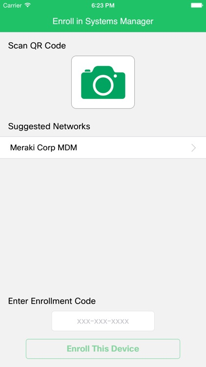 Meraki Systems Manager