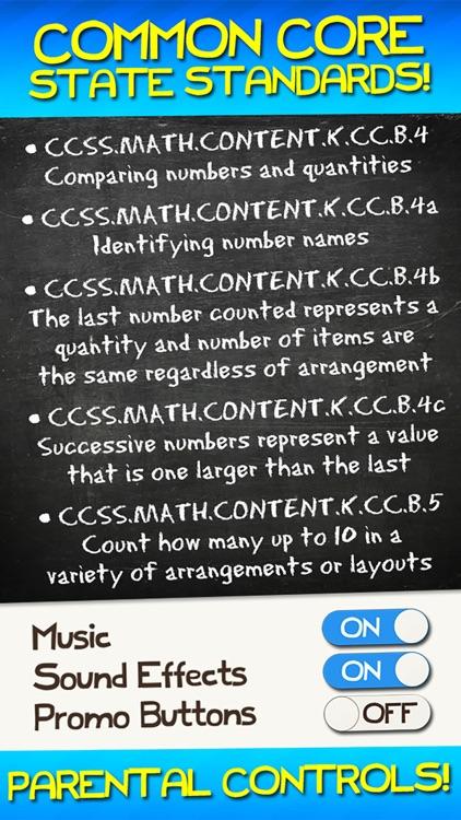 Number Games Match Game Free Games for Kids Math screenshot-3